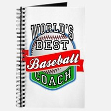 World's Best Baseball Coach Journal