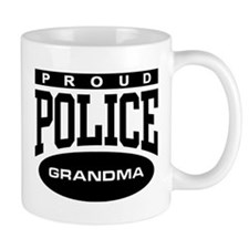 Proud Police Grandma Mug