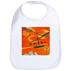 Wingless Airplane Bib