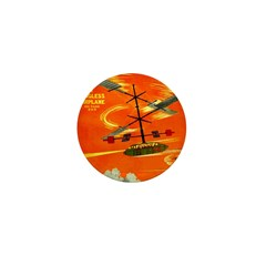 Wingless Airplane Mini Button (100 pack)