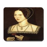Anne boleyn Mouse Pads