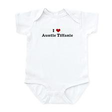 I Love   Auntie Tiffanie Infant Bodysuit