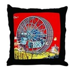 Gyro Electric Destroyer Throw Pillow