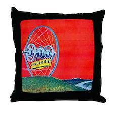 Gyro Land Flyer Throw Pillow