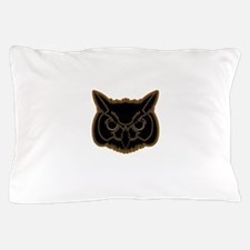 owl head 01 Pillow Case