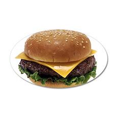 Cheeseburger Wall Decal