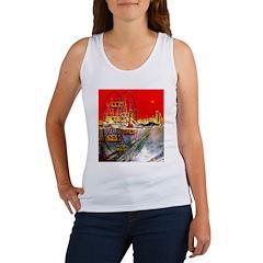 Sea-Going Ferris Wheel Women's Tank Top
