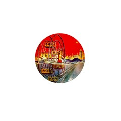 Sea-Going Ferris Wheel Mini Button (100 pack)