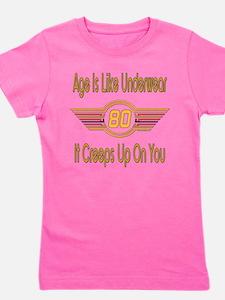 BirthdayUnderwear80.png Girl's Tee