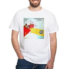 Wireless Signals White T-Shirt