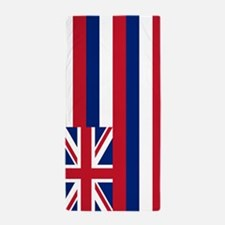 Hawaii Flag Beach Towel