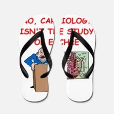 cardiology Flip Flops