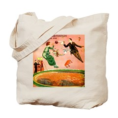 Suspended Gravitation Tote Bag