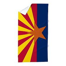 Flag of Arizona Beach Towel