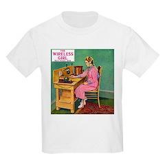 The Wireless Girl Kids T-Shirt