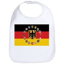 German Flag with State Arms Bib