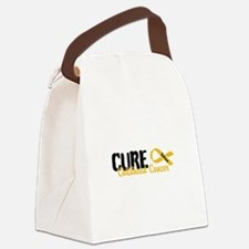 Cure Childhood Cancer Now Canvas Lunch Bag