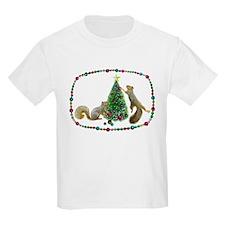 Squirrels Decorating Tree T-Shirt