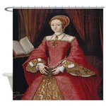 Young Princess Elizabeth Shower Curtain