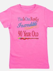 Incredibleat90.png Girl's Tee