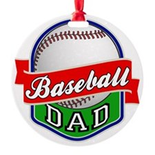 Baseball Dad Ornament