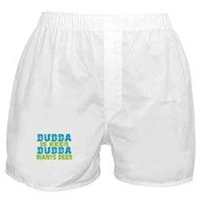 Bubba Is Here For Beer Boxer Shorts