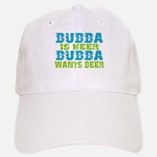 Bubba Is Here For Beer Baseball Baseball Cap