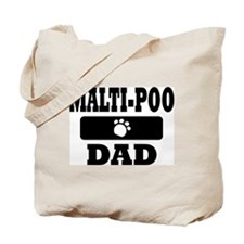 MALTI-POO DAD Tote Bag