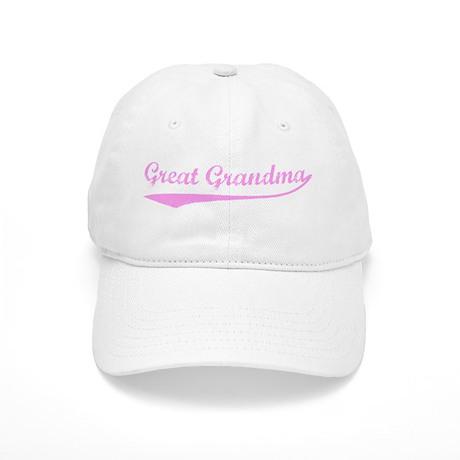 Vintage (Pink) Great Grandma Cap