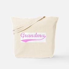 Vintage (Pink) Grandma Tote Bag