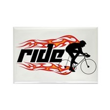 Ride Rectangle Magnet