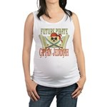 PirateJEDIDIAH.png Maternity Tank Top
