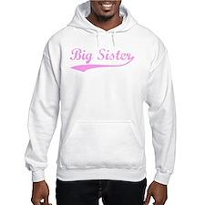 Vintage (Pink) Big Sister Hoodie