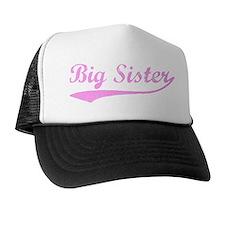 Vintage (Pink) Big Sister Trucker Hat