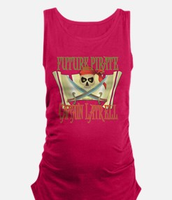 PirateLatrell.png Maternity Tank Top