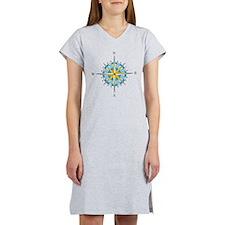 Compass Rose Women's Nightshirt