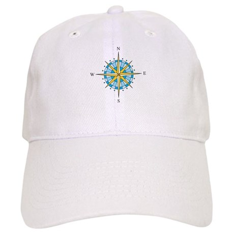 Compass Rose Baseball Cap