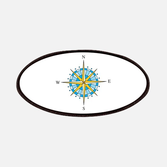 Compass Rose Patches