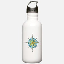 Compass Rose Water Bottle