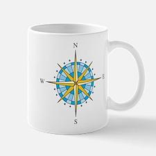 Compass Rose Mugs