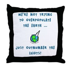 Cute Fruitful multiply Throw Pillow