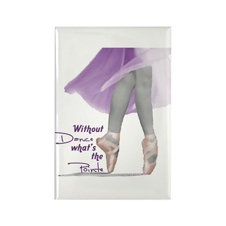 Without Dance what's the Poin Rectangle Magnet (10