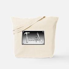 Tote Bag - Tape it, Glue it, or Screw it!