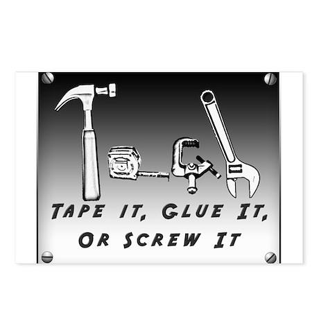 Postcards (8) - Tape it, Glue it, or Screw it!