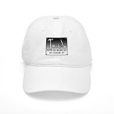 Tech Baseball Cap - Tape it, Glue it, Screw it