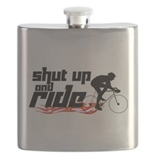 Shut Up and Ride Flask