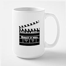 Life is movie, Direct it well - Mug