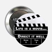 Life is a movie - Button