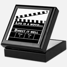 Life is a movie - Keepsake Box