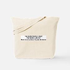Nove Scoctia Duck Tolling Ret Tote Bag